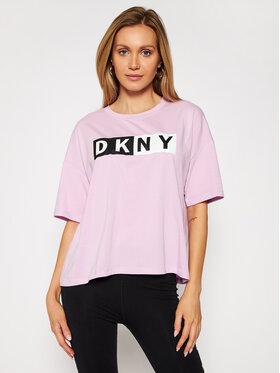 DKNY Sport DKNY Sport T-shirt DP0T7732 Viola Oversize