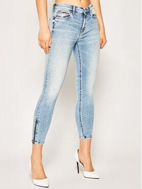 Tommy Jeans Tommy Jeans Skinny Fit džínsy Nora DW0DW08124 Modrá Skinny Fit