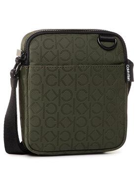 Calvin Klein Calvin Klein Мъжка чантичка Mono Blend Mini Reporter K50K505774 Зелен