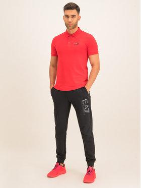 EA7 Emporio Armani EA7 Emporio Armani Тениска с яка и копчета 8NPF04 PJM5Z 1451 Червен Regular Fit