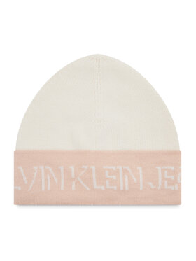 Calvin Klein Jeans Calvin Klein Jeans Sapka Shadow Logo Knit Beanie K60K608676 Fehér