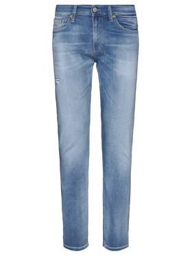 Tommy Jeans Tommy Jeans Slim fit džínsy Scanton Heritage DM0DM08006 Modrá Slim Fit