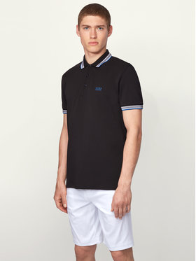 Boss Boss Tricou polo Paddy 50398302 Negru Regular Fit