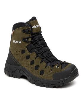 Alpina Alpina Turistiniai batai Simbia 623R-7 Žalia