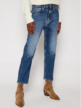 Tommy Jeans Tommy Jeans Blugi Straight Leg Harper DW0DW09011 Albastru Regular Fit