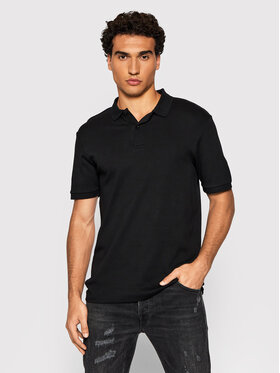 Selected Homme Selected Homme Polo Paris 16072841 Czarny Regular Fit