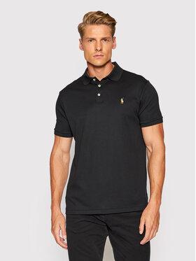 Polo Ralph Lauren Polo Ralph Lauren Тениска с яка и копчета Ssl 710713130001 Черен Slim Fit