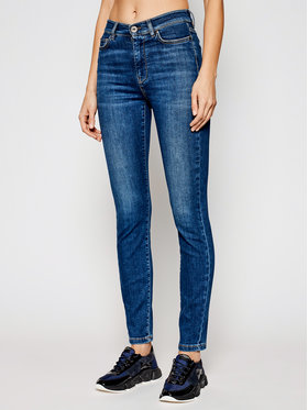 Weekend Max Mara Weekend Max Mara Blugi Tenace 51810617 Albastru Skinny Fit
