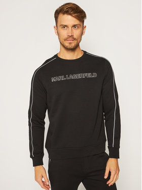 KARL LAGERFELD KARL LAGERFELD Sweatshirt Sweat 705001 502910 Schwarz Regular Fit