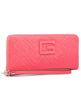 Guess Guess Portefeuille femme grand format Janay (QG) SLG SWQG77 38460 Rose