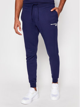 New Balance New Balance Pantaloni da tuta C C F Pant MP03904 Blu scuro Athletic Fit