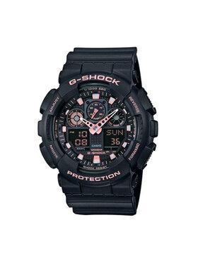 G-Shock G-Shock Hodinky GA-100GBX-1A4ER Čierna