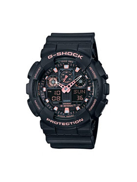 G-Shock G-Shock Ρολόι GA-100GBX-1A4ER Μαύρο