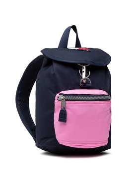 Tommy Jeans Tommy Jeans Rucksack Tjw Heritage Sm Flap Back Can AW0AW09888 Dunkelblau