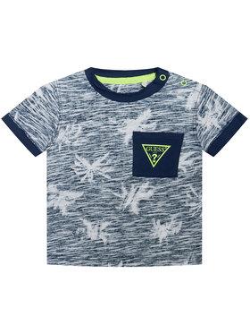 Guess Guess T-Shirt L1GI21 K6XN1 Niebieski Regular Fit