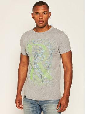 Rage Age Rage Age T-Shirt Mess Grau Skinny Fit