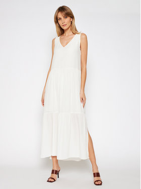 TwinSet TwinSet Rochie maxi 211MT2086 Bej Relaxed Fit