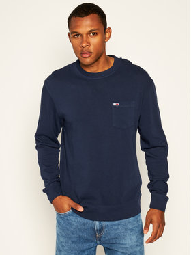 Tommy Jeans Tommy Jeans Džemperis Tjm Washed Graphic DM0DM07832 Tamsiai mėlyna Regular Fit