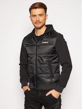 Guess Guess Átmeneti kabát U0BA39 WDFN0 Fekete Regular Fit