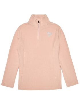 Rossignol Rossignol Fliso džemperis 1/2 Zip RLIYL06 Rožinė Regular Fit