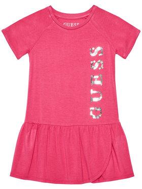 Guess Guess Každodenné šaty K1RK20 K83C0 Ružová Regular Fit