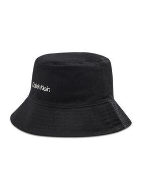 Calvin Klein Calvin Klein Klobúk typu bucket Oversize Rev K60K608215 Čierna