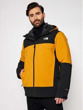 The North Face The North Face Kurtka wielofunkcyjna Mountain Light Triclimate NF0A4R2ITBK1 Żółty Regular Fit