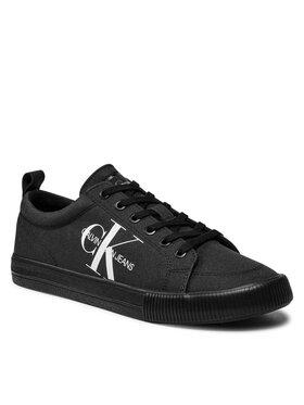 Calvin Klein Jeans Calvin Klein Jeans Tenisky Vulcanized Laceup Sneaker YM0YM0274 Černá