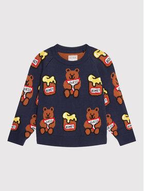 Guess Guess Sweater H1YT01 Z2S40 Sötétkék Regular Fit
