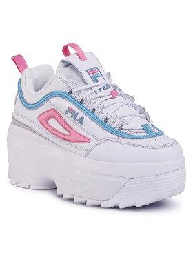 Fila Fila Sneakersy Disruptor Wedge Wmn 1010865.92W Biela
