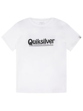 Quiksilver Quiksilver Тишърт New Slang EQBZT04143 Бял Regular Fit