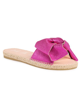 Manebi Manebi Espadrilės Sandals With Bow O 1.3 J0 Rožinė