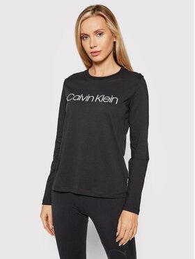 Calvin Klein Calvin Klein Bluse Core Logo K20K203024 Schwarz Regular Fit