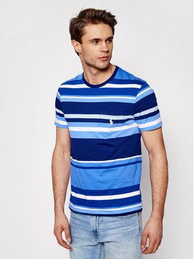 Polo Ralph Lauren Polo Ralph Lauren Marškinėliai Ssl 710835042001 Mėlyna Slim Fit