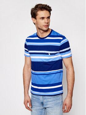 Polo Ralph Lauren Polo Ralph Lauren T-Shirt Ssl 710835042001 Blau Slim Fit