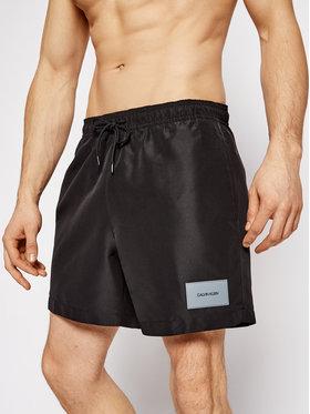 Calvin Klein Swimwear Calvin Klein Swimwear Szorty kąpielowe KM0KM00574 Czarny Regular Fit