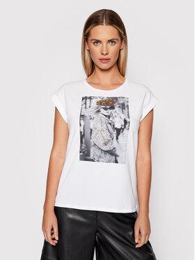 Liu Jo Liu Jo T-Shirt WF1252 J5003 Biały Regular Fit
