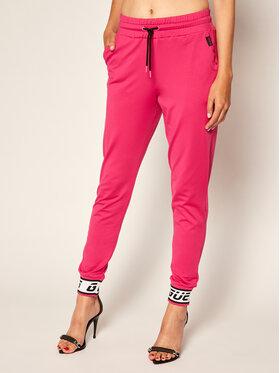 Guess Guess Pantalon jogging O0BA23 KA3A0 Rose Regular Fit