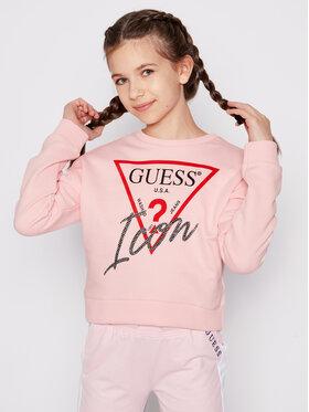 Guess Guess Bluza J1RQ14 KAD70 Różowy Regular Fit