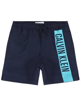 Calvin Klein Swimwear Calvin Klein Swimwear Плувни шорти Medium Drawstring B70B700225 Тъмносин Regular Fit