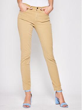 Emporio Armani Emporio Armani Pantalon en tissu 3H2J20 2N74Z 0108 Marron Skinny Fit