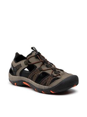Bergson Bergson Sandály Sobat Hiking Sandals Zelená