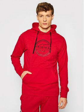 4F 4F Sweatshirt H4L21-BLM015 Rot Regular Fit