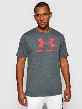 Under Armour Under Armour Marškinėliai Ua Sportstyle Logo 1329590 Pilka Loose Fit