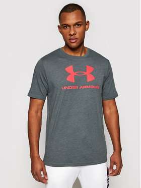 Under Armour Under Armour T-Shirt Ua Sportstyle Logo 1329590 Szary Loose Fit