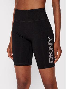DKNY Sport DKNY Sport Kerékpáros rövidnadrág DP1S4865 Fekete Skinny Fit