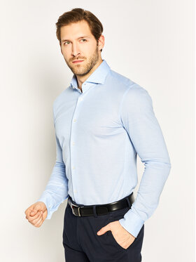 Boss Boss Cămașă Jason 50430206 Albastru Slim Fit
