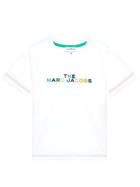 Little Marc Jacobs Little Marc Jacobs Tricou W25467 S Alb Regular Fit
