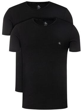 Calvin Klein Underwear Calvin Klein Underwear 2-dílná sada T-shirts Sort 000NB2221A Černá Regular Fit