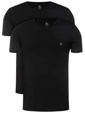 Calvin Klein Underwear Calvin Klein Underwear Komplet 2 t-shirtów Sort 000NB2221A Czarny Regular Fit
